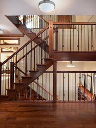 Iron Handrail For Stairs Iron Railing Craftsman Houzz