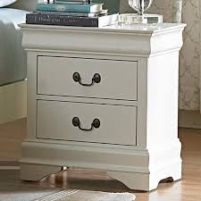 alfie white 2 drawer nightstand set of 2 free shipping today