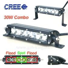 30 led light bar combo 2016 new super slim mini 30 watts 6 inch combo beam flood spot