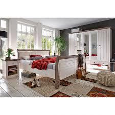Schlafzimmer Set 140x200 Massivholzbett Lyngby 180 X 200cm Home24