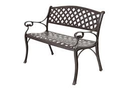 Outdoor Metal Dining Chairs Bench Gratifying Victorian Cast Iron Garden Bench Valuable Cast