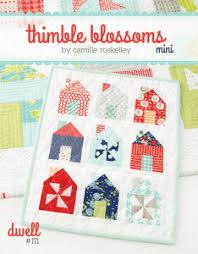 quilt pattern websites dwell mini quilt pattern the calico cottage quilt shop websites