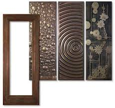 decorative metal cabinet door inserts art metal panels from artful inserts the cabinet door panels