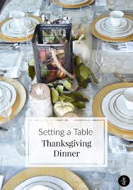 how to set a rustic and glam thanksgiving table u2013 pretty domesticated