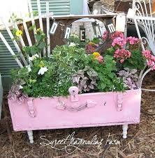 Bathtub Planter Upcycling Garden Beds Upcycled Garden Art Cast Iron Bathtub Pink