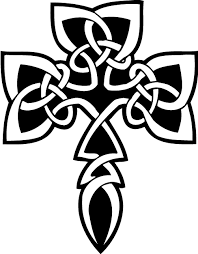 glowing tribal cross tattoo on biceps photos pictures and