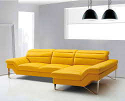 Modern Yellow Sofa Modern Yellow Sectional Sofa Vg 4 Leather Sectionals