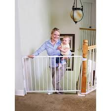 Gate For Top Of Stairs With Banister Regalo Top Of Stairway Baby Gate 26