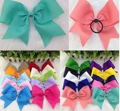 the ribbon boutique wholesale 8inch high quality ribbon boutique hair bow with elastic hair band