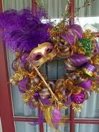 mardi gras mesh deco mesh monogrammed mardi gras wreath on etsy 60 00 mardi