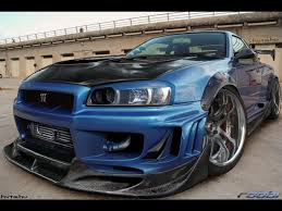 widebody cars wallpaper nissan skyline r34 wallpaper free wallpapers of the most