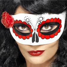 Day Of The Dead Masks Day Of The Dead Mask Adults Halloween Mask Funkyparty Com