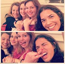 Oklahoma Traveling Pants images America ferrera and blake lively reunite with sisterhood of the jpg