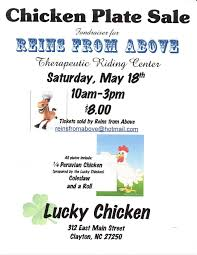reins from above chicken plate sale equine nonprofit network nc