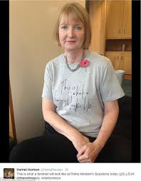 This Is What A Feminist Looks Like Meme - harriet harman wears this is what a feminist looks like t shirt