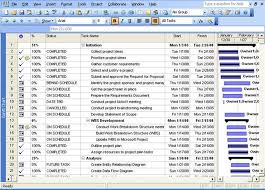 Requirements Template Excel Excel Project Plan Template