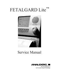 fetalgard lite service manual