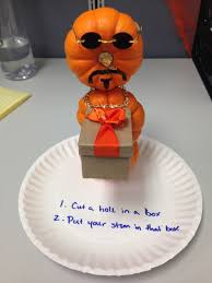 proud of my submission for the office pumpkin decorating contest