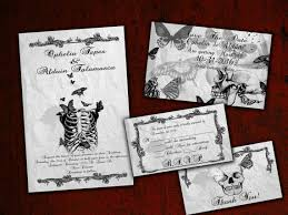 nightmare before christmas wedding invitations spooktacular wedding invitations glitter n spice