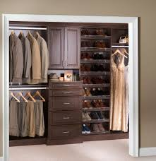 Lowes Metal Shelving by Decor Walnut Wood Lowes Closet With Shoes Shelves For Home
