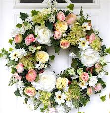 flower wreath wedding decorations how to make a floral wreath