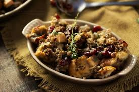 Cranberry For Thanksgiving Harvest Sausage Stuffing With Pecans And Cranberries The Chunky Chef