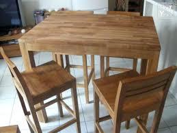 chaises hautes de cuisine alinea table mange debout alinea table et chaises teck massif naturel