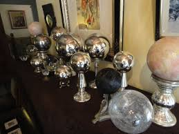 History Of Gazing Ball Victorian Crystal Balls And Gazing Balls At Leith Hall In Cape May Nj