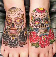 amazing skull tattoos 41 amazing sugar skull tattoos to celebrate día de los muertos