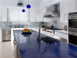 Kitchen Countertop Options Sparkle Blue Quartz Stone For Prefab Countertops Your First