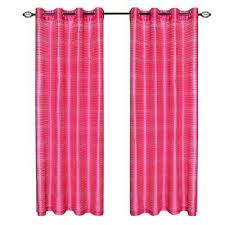 Fuschia Blackout Curtains Red Grommet Curtains U0026 Drapes Window Treatments The Home Depot