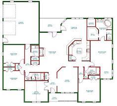 one story house plans floor plan single family house plans one story home floor plan