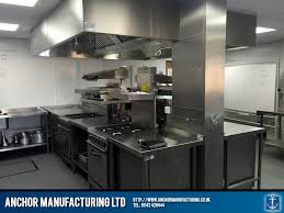 Commercial Kitchen Canopy by Training Kitchen Designed Fabricated U0026 Installed Anchor