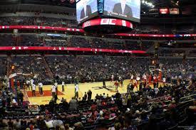 Verizon Center Washington Dc Map by Wizards U0026 Georgetown Capital One Arena Seating Chart