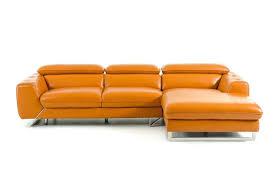 Orange Leather Chair Decoro Leather Sofa Benchcraft Paulie Durablendar Orange