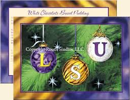 lsu ornaments lsu cards the routh collection