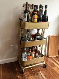 ikea raskog utility cart bar cart ikea hack this fairy tale life