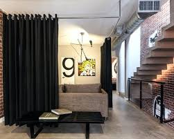 example of a trendy entryway design in other with concrete floors