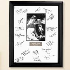wedding autograph frame personalized wedding autograph frame walmart