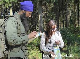How To Use A Map One And Two Day Navigation And How To Use A Compass Courses In The