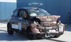 resultat crash test siege auto fiat 500 américaine nouveau crash test et résultat différent qui