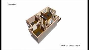 versailles 16x40 2014 versailles plan 2 2 bed 1 bath