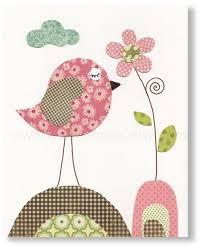 Bird Decor For Nursery Bird Nursery Decor Wall Baby Nursery Decor Nursery