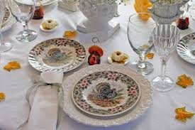 Beautiful Place Settings Romantic Thanksgiving Tablescapes U2013 By Shannon Imlay U2013 Hudson