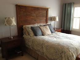 King Size Wood Headboard Best 25 Barn Wood Headboard Ideas On Pinterest Rustic Headboard