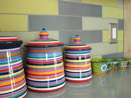 Kitchen Canisters Ceramic Best 40 Colorful Kitchen Canisters Sets Inspiration Design Of 255