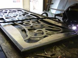 waterjet metal ornamental artistic iron door jpg waterjet