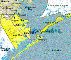 map of galveston maps and land records of galveston county