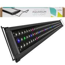 Aquarium Led Lighting Fixtures Koval 156 Led Aquarium Light With Extendable Brackets