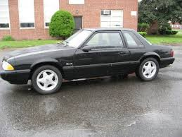 mustang 1991 for sale sell used black 1991 ford mustang lx 5 0 notchback automatic only